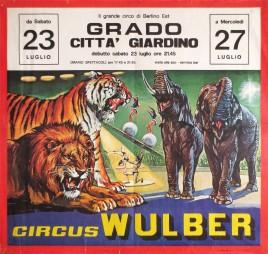 Circus Wulber Circus poster - Italy, 1983