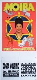 Moira piu'... Circo di Mosca Circus poster - Italy, 1997