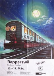 Circus Knie Circus poster - Switzerland, 1996
