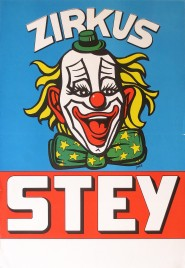 Zirkus Stey Circus poster - Switzerland, 1986
