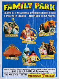 Family Park Circus poster - Italy, 0
