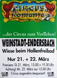 Circus Romanza Circus poster - Germany, 1995