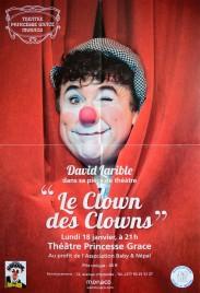 David Larible - Le Clown des Clowns Circus poster - Monaco, 2016