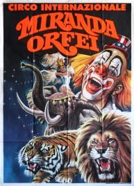 Circo Internazionale Miranda Orfei Circus poster - Italy, 0