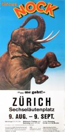 Circus Nock Circus poster - Switzerland, 1983