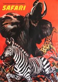 Circus Safari Circus poster - Czech Republic, 1989