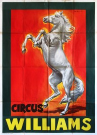 Circus Williams Circus poster - Germany, 1967