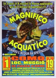 Magnifico Acquatico Circus poster - Italy, 2013