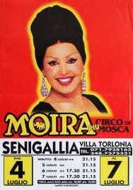 Moira piu' Circo di Mosca Circus poster - Italy, 0