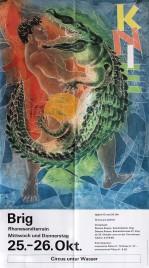 Circus Knie Circus poster - Switzerland, 1989