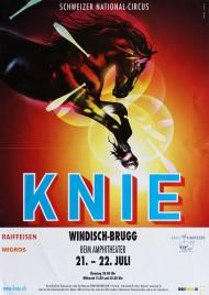 Circus Knie Circus poster - Switzerland, 2015