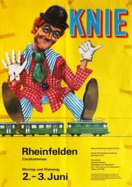 Circus Knie Circus poster - Switzerland, 1980