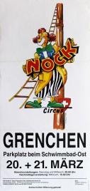 Circus Nock Circus poster - Switzerland, 2001