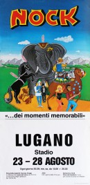 Circus Nock Circus poster - Switzerland, 1988