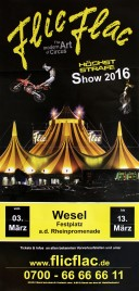 Flic Flac Circus Circus poster - Germany, 2016