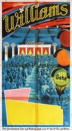 Circus Williams Circus poster - Germany, 1958