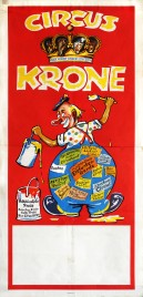 Circus Krone Circus poster - Germany, 1949