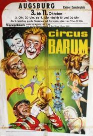 Circus Barum Circus poster - Germany, 1967
