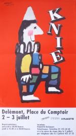 Circus Knie Circus poster - Switzerland, 1997
