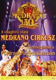 Medrano Cirkusz Circus poster - Italy, 2006
