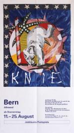 Circus Knie Circus poster - Switzerland, 1994