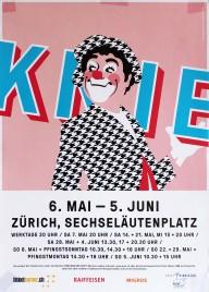 Circus Knie Circus poster - Switzerland, 2016
