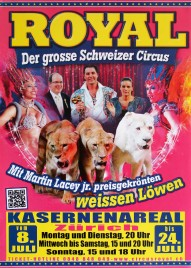 Circus Royal Circus poster - Switzerland, 2016