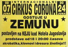 Internacionalni Cirkus Corona Circus poster - Serbia, 2012