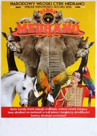 Circo Medrano Circus poster - Italy, 2016