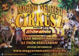 Magyar Nemzeti Circusz Circus poster - Hungary, 2015