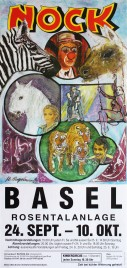 Circus Nock Circus poster - Switzerland, 1999