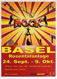 Circus Nock Circus poster - Switzerland, 2011