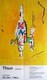 Circus Knie Circus poster - Switzerland, 1982