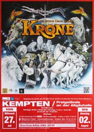 Circus Krone Circus poster - Germany, 2016