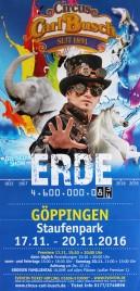 Circus Carl Busch Circus poster - Germany, 2016