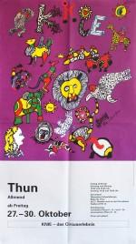 Circus Knie Circus poster - Switzerland, 1995