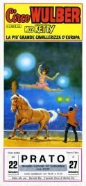 Circo Wulber Circus poster - Italy, 1983