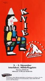 Circus Knie Circus poster - Switzerland, 1999