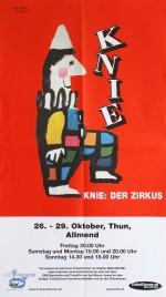 Circus Knie Circus poster - Switzerland, 2001