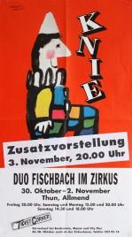 Circus Knie Circus poster - Switzerland, 1998