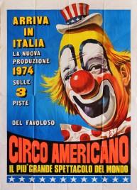 Circo Americano Circus poster - Italy, 1974