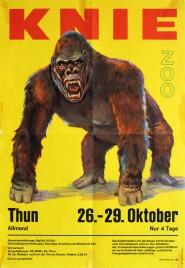 Circus Knie Circus poster - Switzerland, 1973