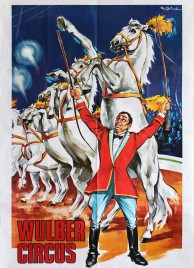 Wulber Circus Circus poster - Italy, 1973