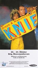 Circus Knie Circus poster - Switzerland, 2002