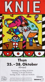 Circus Knie Circus poster - Switzerland, 2012