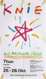 Circus Knie Circus poster - Switzerland, 1985