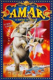 Cirque Amar Circus poster - France, 2002