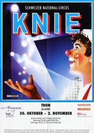 Circus Knie Circus poster - Switzerland, 2014