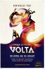 Cirque Du Soleil - VOLTA Circus poster - Canada, 2017