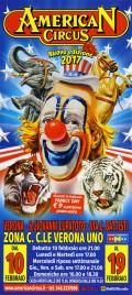 American Circus Circus poster - Italy, 2017